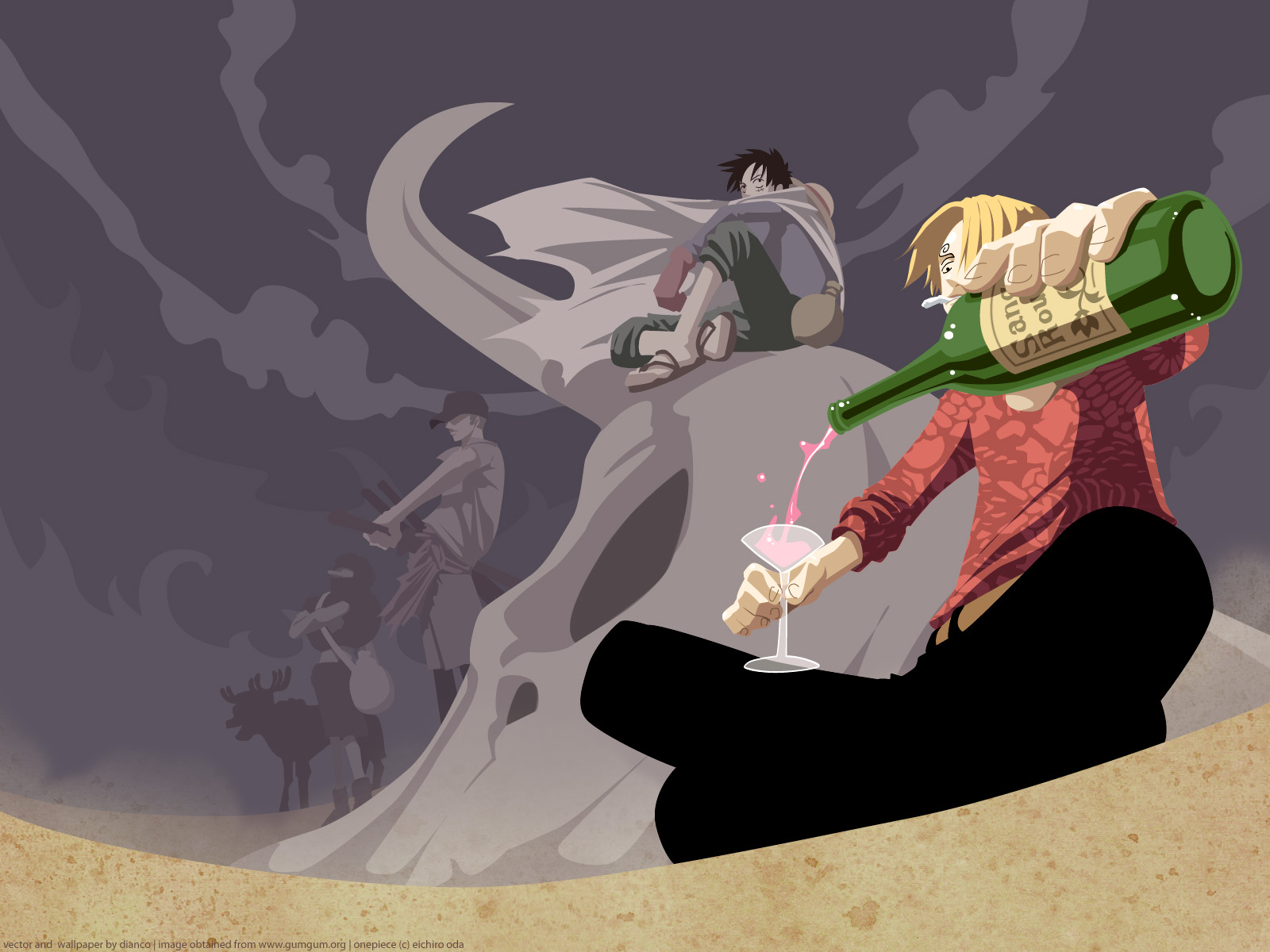 One Piece HD & Widescreen Wallpaper 0.748944386804125