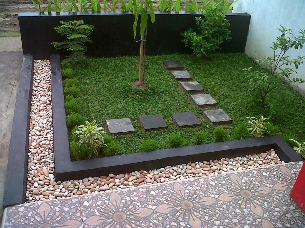 Inspirasi desain taman halaman rumah modern minimalis 2014   gambar ...