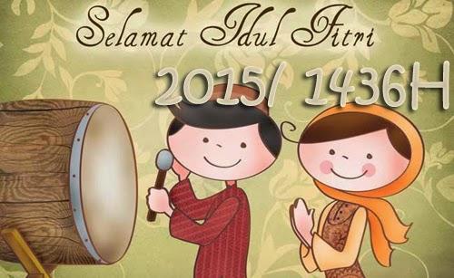 Ucapan Selamat Lebaran Idul Fitri 2015
