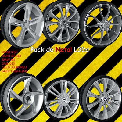 ZM - Pack de rodas L3D 3D wheels