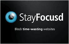 StayFocusd extension for Google Chrome