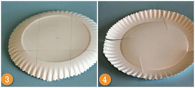 Como Hacer Cajas con Platos de Carton