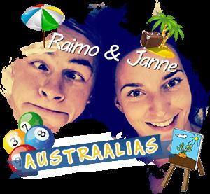 Raimo ja Janne Austraalias