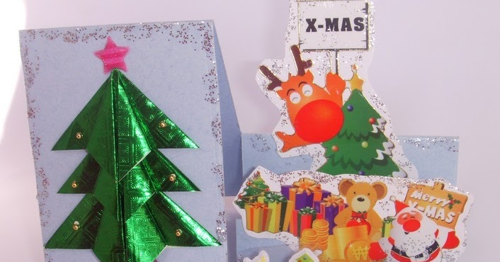 Cards Crafts Kids Projects Side Step Card Christmas