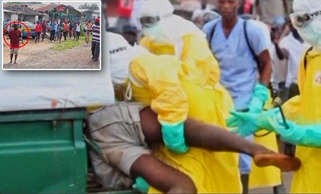 Pesakit Ebola Kelaparan Merayau Di Pasar Mengejutkan Orang Ramai