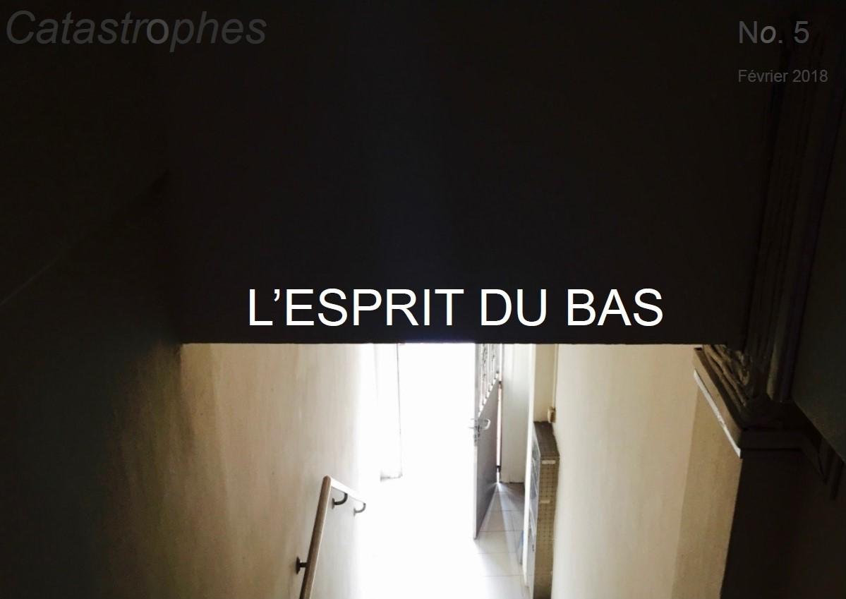 REVUE CATASTROPHES N° 5, ''L'ESPRIT DU BAS'', FÉVRIER 2018