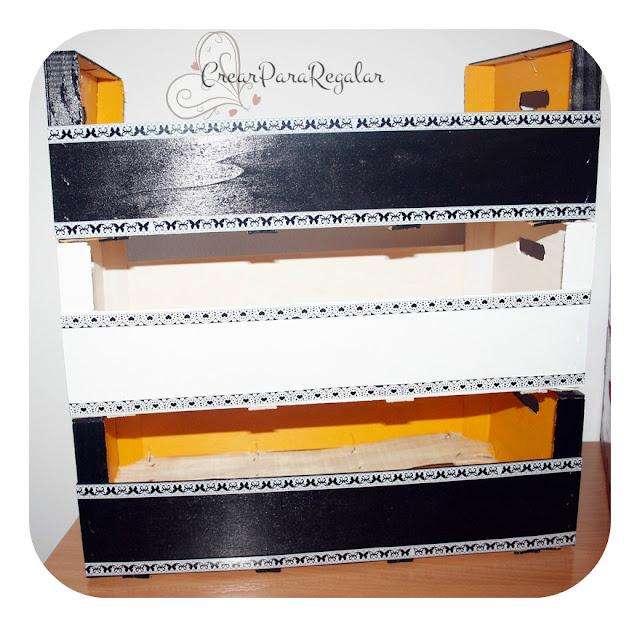 diy manualidades cajas madera fruta