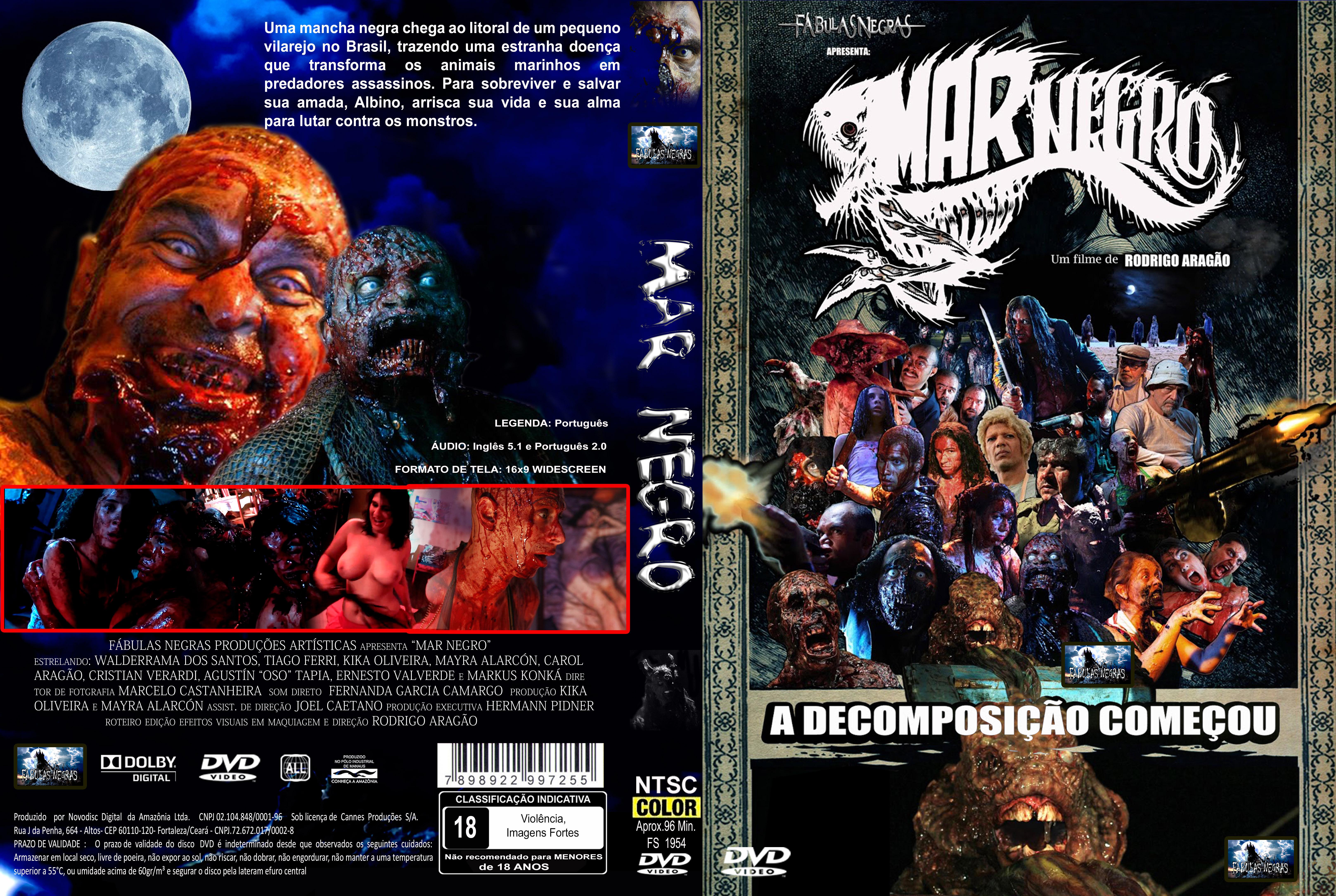 Capa DVD Mar Negro