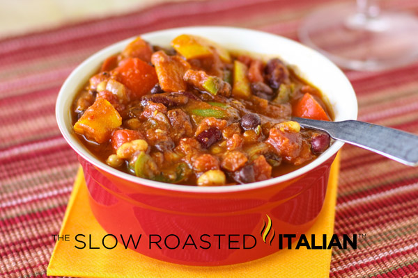 hearty vegetarian chili? No, its not a dream. It's The Best Ever ...