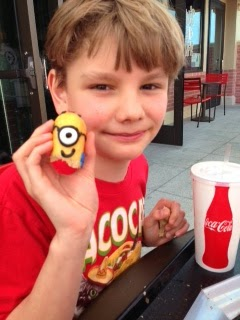 Logan Guleff Winner MasterChef Junior Minons Winner