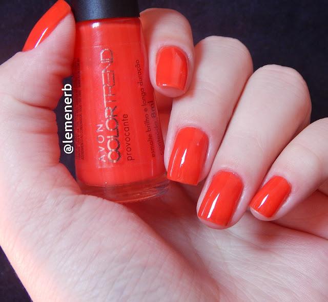 esmalte vermelho avon