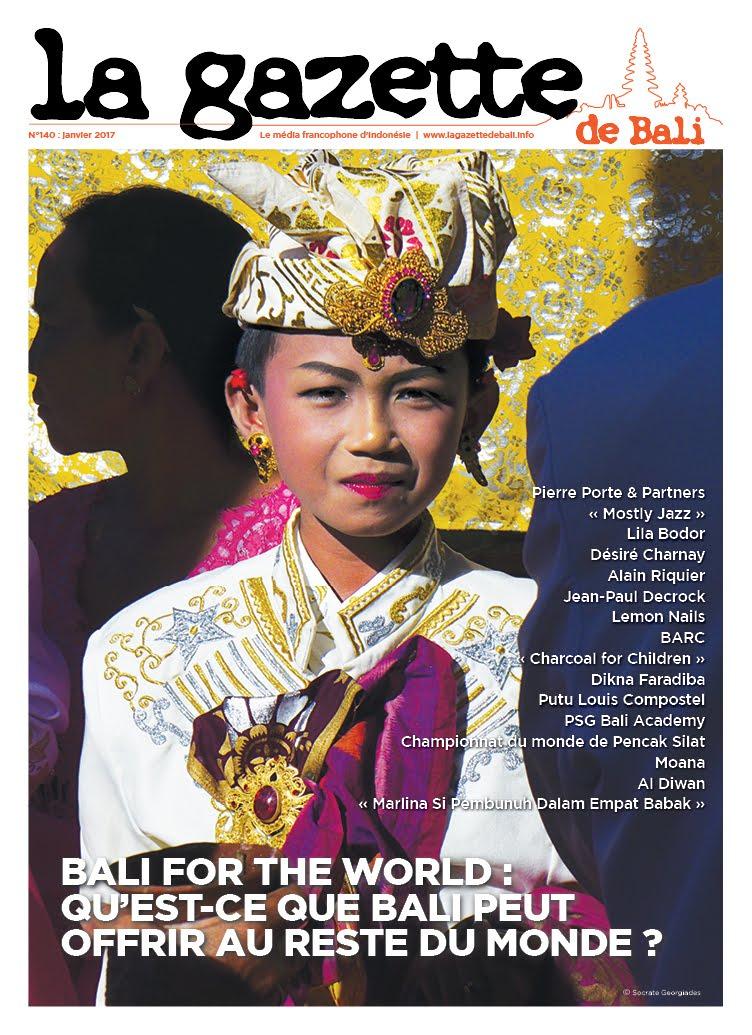 La Gazette de Bali janvier 2017