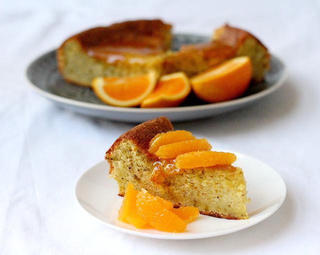 Orange And Hazelnut Cake With Orange Flower Syrup Recipes — Dishmaps