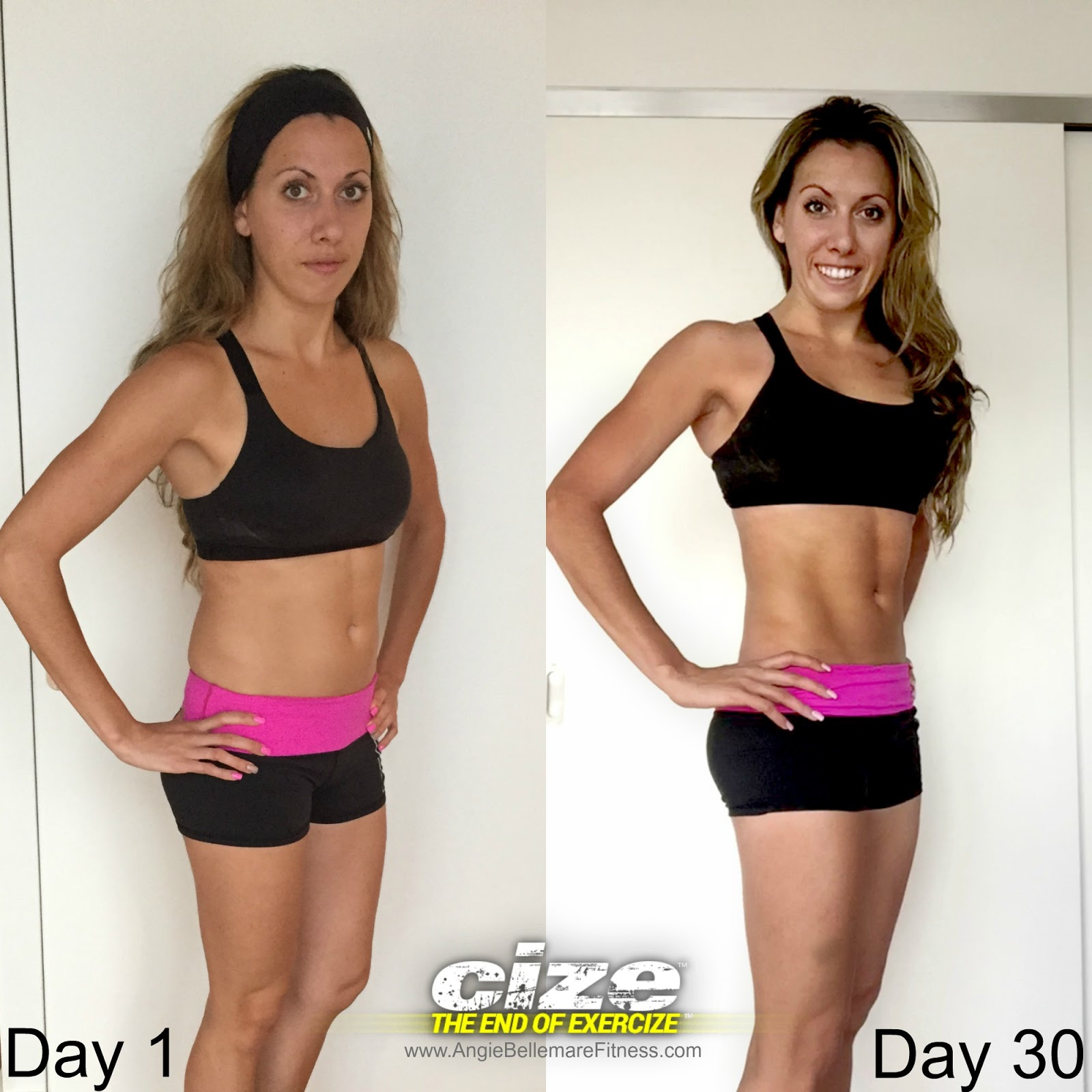 Angie Bellemare Fitness Cize It Up