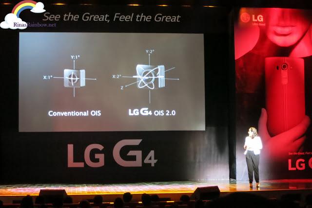 LG G4 image stabilization