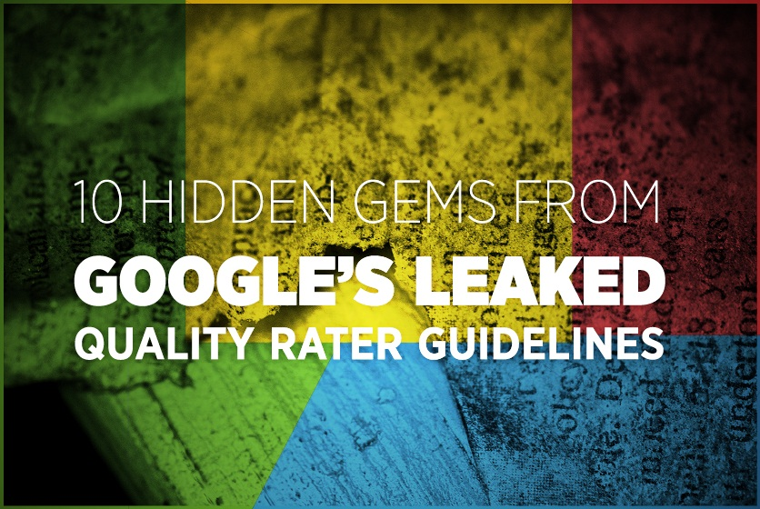 How to get high ranking in Google - 10 Best Practices From Google's Leaked Quality Rater Guidelines - #infographic