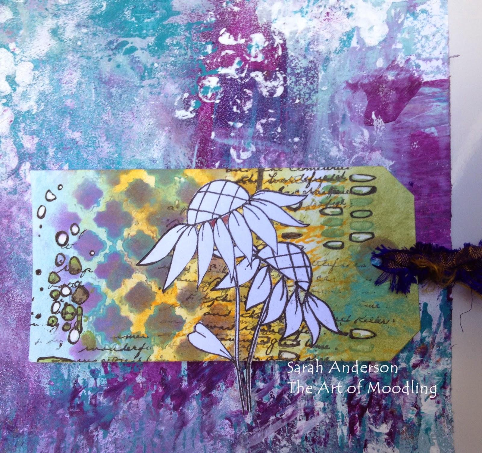 stencilled tag