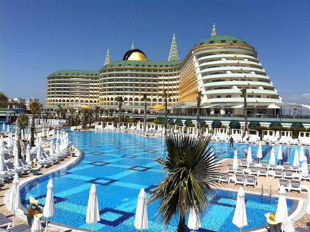Самые шикарные и оригинальные турецкие отели - от хайтека, маленькой Европы до роскоши золотых уборных | Turkish luxury hotels
