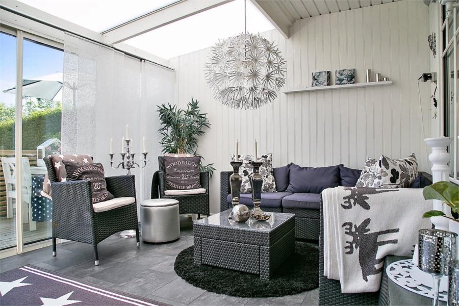wystrój wnętrz, wnętrza, urządzanie mieszkania, dom, home decor, dekoracje, aranżacje, styl skandynawski, shabby chic, białe wnętrza, jasne wnętrza, weranda