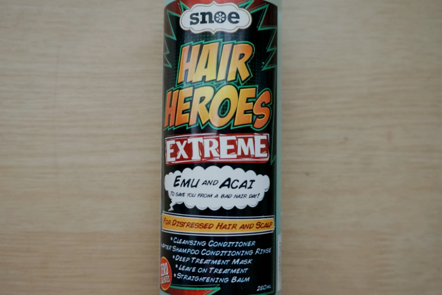 Snoe Hair Heroes Extreme Emu + Acai 5-in-1 Cleansing Conditioner