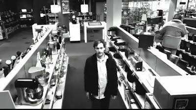 hombre se roba un televisor lg plasma lcd led 42 pulgadas ante camaras de seguridad