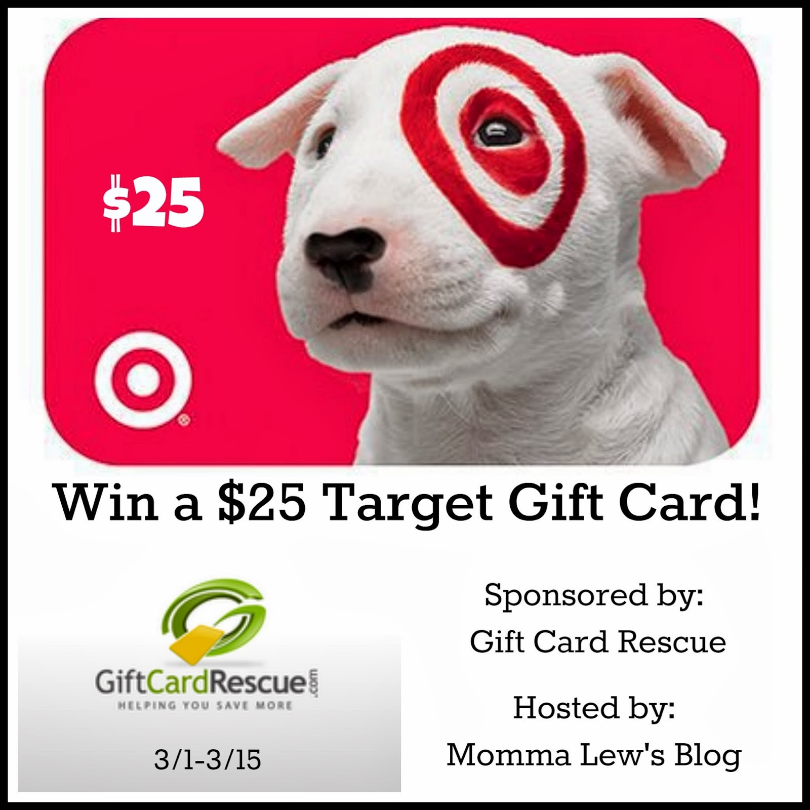 Target 25 gift card giveaway i was born to cook target 25 gift card giveaway negle Image collections