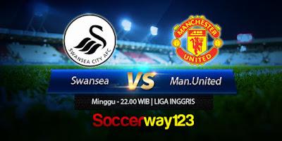 Prediksi Bola Swansea City vs Manchester United