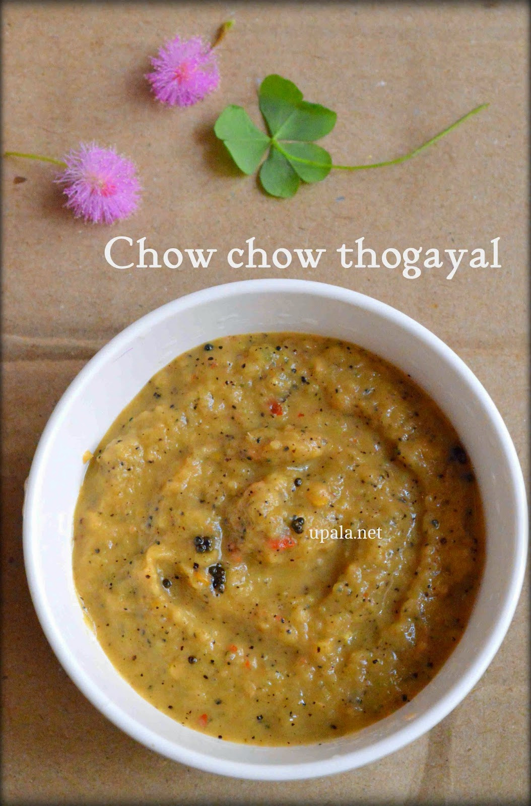 chowchow thogayal