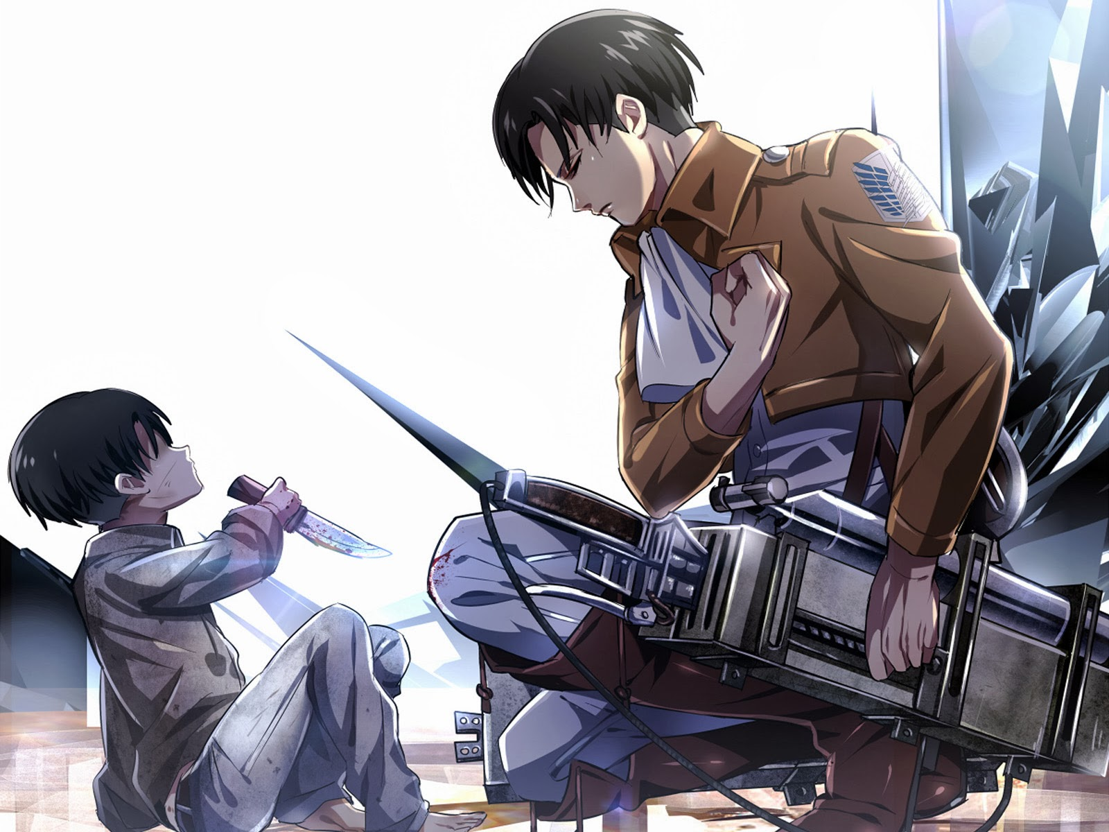 levis manga wallpaper - photo #19