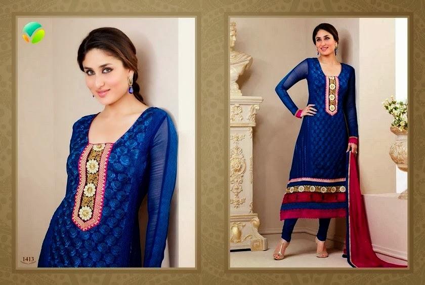 Designer Dresses Salwar Suits 2014