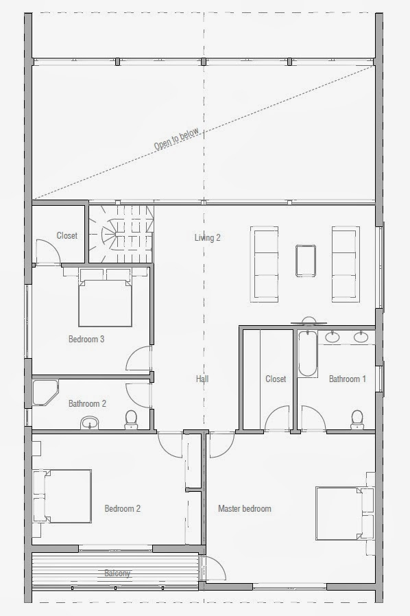Affordable Modern House Plans Affordable Home Plans Affordable House Plan Ch169