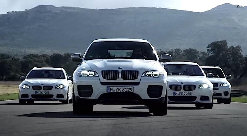 BMWのMモデルの新車販売が好調。ただしMパフォーマンスシリーズも含む。