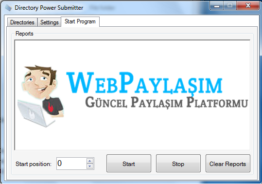 Directory Power Submitter - SEO Programı