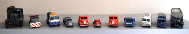 Toy cars and lorries