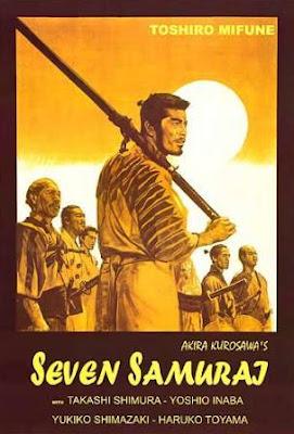 Los siete samuráis (Shichinin no samurai. Seven Samurai)(1954) movie poster pelicula