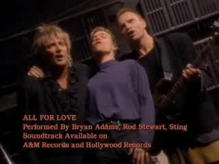 bryan adams all for love