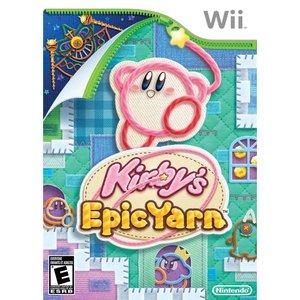 Wii Kirby's Epic Yarn Video Game Walmart