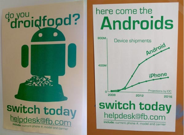 android facebook staff