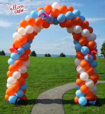 C mo hacer arcos con globos decoraci n con globos for Como hacer decoracion con globos