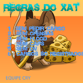 Regras do Xat!