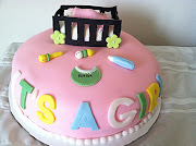 Girl Baby shower Cake (girl baby shower cake)