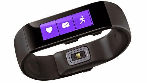 Microsoft se une a la moda de los 'gadgets vestibles' con su nueva Band