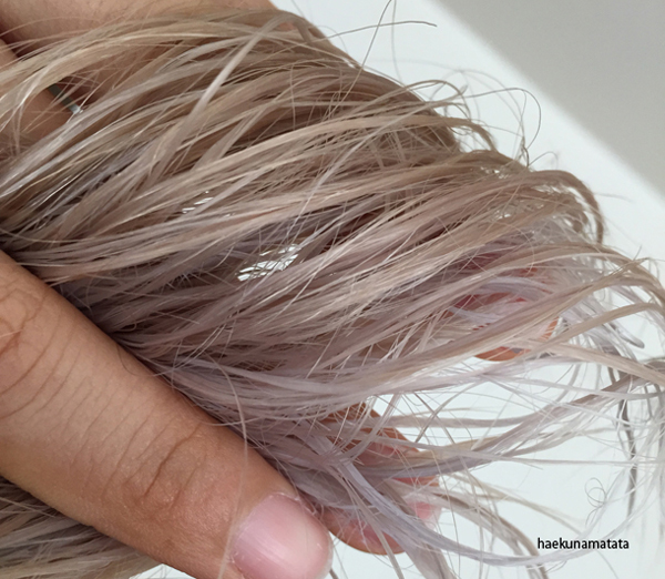 how to bleach Asian hair lavender purple at home