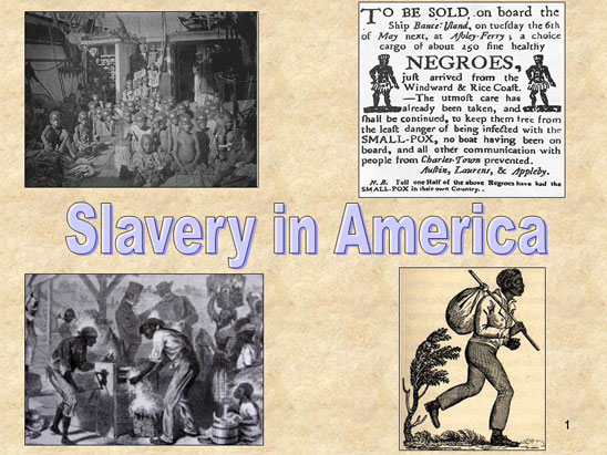 a discussion on slavery in america The rise of industrial america was slavery the engine of american economic growth questions for discussion 1 was slavery indispensable to the growth of.