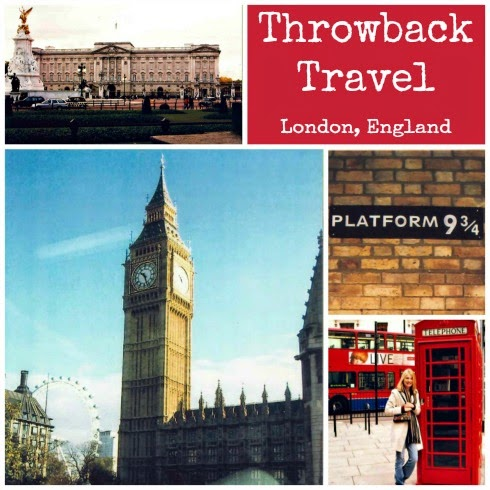 Throwback Thursday Travel Edition London, England 2004