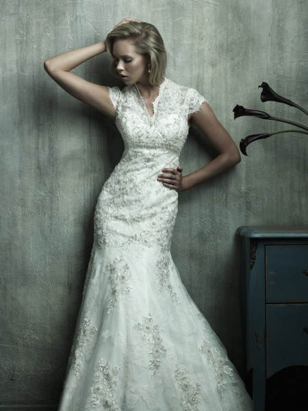vestidos de novia: La línea de encargo de la boda vestido de Hecho