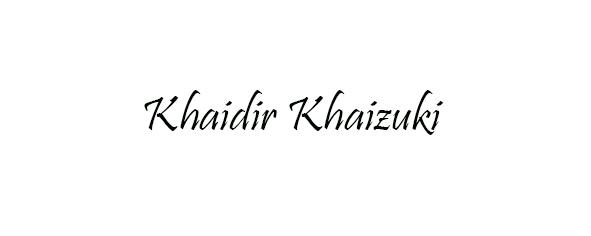 KhaidirKhaizuki