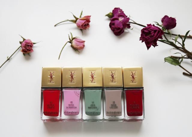 YSL nail colors