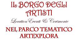 """il sito de """"Il Borgo degli Artisti"""""""