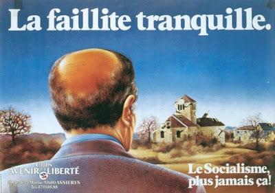Pub ! …dans les années 70-80, l'émergence de la publicité politique permet la création de vraies merveilles qui n'hésitent pas à balancer.
